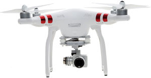 DJI Phantom 3 Quadcopter Drone with 3-Axis Gimbal and 2.7k Camera (Refurbished)