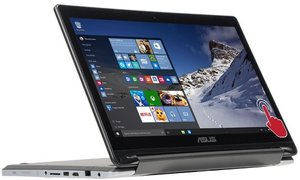 Asus R554LA 2-in-1, Core i5-5200U, 6GB RAM (Refurbished)
