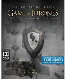 Game Of Thrones The Complete Fourth Season (Blu-ray) New Limited Edition Steelbook