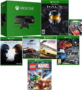 Xbox One 500GB Console + Chat Headset + Free 7 Games (Refurbished)