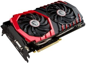 MSI GeForce GTX 1070 Aero 8G OC Graphics Card