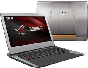 Asus G752VT-DH74 Core i7 6700HQ, 24GB RAM, 1TB HDD + 256GB SSD, GeForce GTX 970M, 1080p IPS
