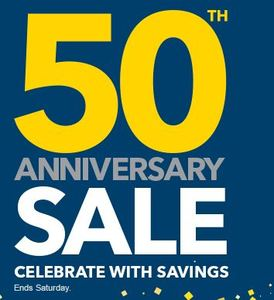 Best Buy: 50th Anniversary Sale
