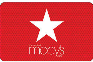 $100 Macy's Gift Card + Bonus $5 eBay Card (Email Delivery)