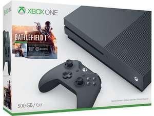 Xbox One S Battlefield 1 Storm Grey Bundle + Free Game