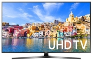 Samsung UN65KU7000 65-inch 4K Ultra HD Smart TV + Soundbar