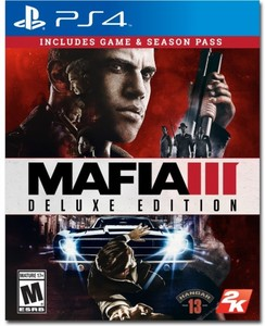 Mafia III Deluxe Edition (PS4 Download) - PS Plus Required