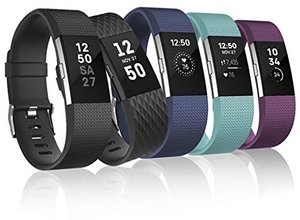 Fitbit Charge 2 Heart Rate + Fitness Wristband (Refurbished)