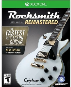 Rocksmith 2014 Edition - Remastered with Real Tone Cable (Xbox One)