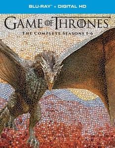 Game of Thrones Seasons 1 - 6 (Blu-ray SteelBook Packaging)