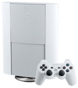 PlayStation 3 Super Slim White 500GB Console (Pre-owned)