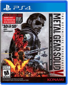Metal Gear Solid V: The Definitive Experience (PS4 Download) - PS Plus Required