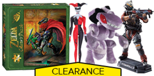GameStop Collectible Clearance Sale 50% Off