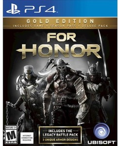 For Honor Gold Edition (PS4 Download) - PS Plus Required