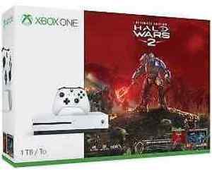 Xbox One S 1TB Halo Wars 2 Bundle + Two Free Games