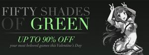 Green Man Gaming Valentine's Day Sale