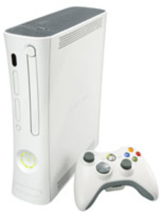 Xbox 360 System White + Wireless Controller (Refurbished)