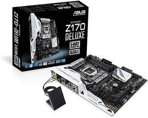 Asus Z170-DELUXE LGA 1151 Intel Z170 HDMI SATA 6Gb/s USB 3.1 USB 3.0 ATX Motherboard