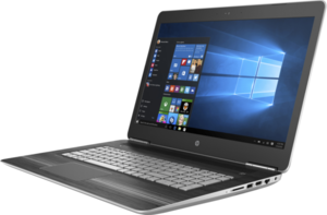 HP Pavilion 17t Power Laptop, Core i7-7700HQ, GeForce GTX 1050, 12GB RAM, 1TB HDD + 128GB SSD