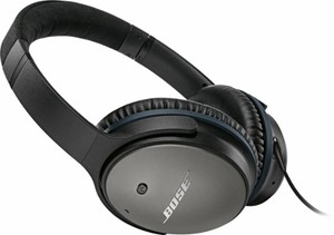 Bose QuietComfort 25 Noise Cancelling Wired Headphones (Refurbished)