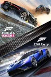Forza Horizon 3 and Forza Motorsport 6 Bundle (Xbox One/PC Download) - Gold Required