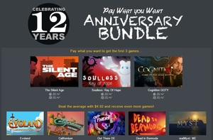 12th Anniversary Pay What You Want Bundle (PC Download)