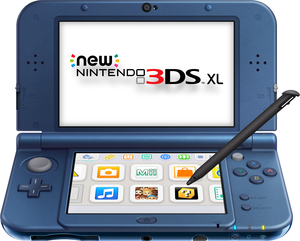 New Nintendo 3DS XL Galaxy Style (Refurbished)