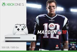 Xbox One S Madden NFL 18 500GB Bundle + Two Free Games