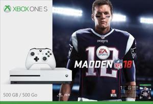 Xbox One S Madden NFL 18 500GB Bundle