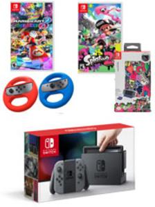 Nintendo Switch Gray Joy-Con Multiplayer Bundle
