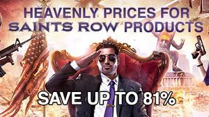 GamersGate Sale: Saints Row Titles