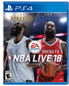 NBA Live 18 (PS4 Download) - PS Plus Required