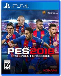 PES 2018: Pro Evolution Soccer (PS4)