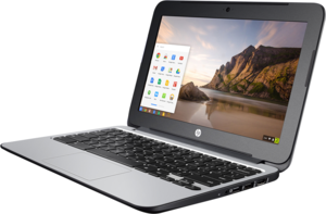 HP 11-G3 Chromebook, Celeron N2840, 2GB RAM, 16GB eMMC (Refurbished)