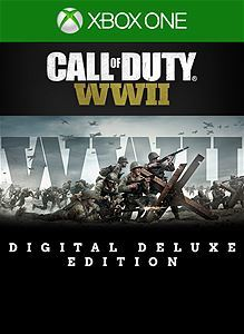 Call of Duty: WWII - Digital Deluxe (Xbox One Download) - Gold Required