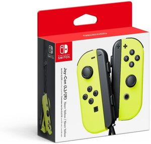 Nintendo Switch Neon-Yellow Joy-Con (L-R)