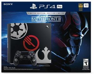 PlayStation 4 Pro 1TB Star Wars Battlefront II Limited Edition