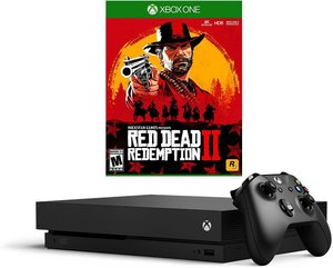 Xbox One X 1TB Console + Red Dead Redemption 2