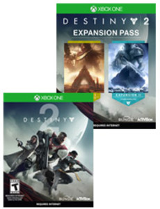 Destiny 2 + Expansion Pass Bundle (Xbox One Download) - Gold Required