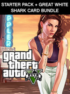 Grand Theft Auto V + Criminal Enterprise + Great White Shark Card Bundle (PC Download)