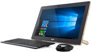 Acer Aspire AZ3 All-in-One Desktop, Pentium J3710, 4GB RAM, 128GB SSD, 1080p IPS Touch