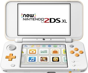 New Nintendo 2DS XL (White + Orange)
