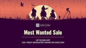 GOG Sale: The Most Wanted Games