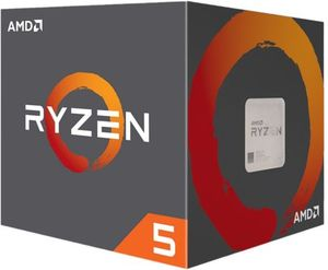 AMD Ryzen 5 2600X Six-Core 3.6GHz Desktop Processor