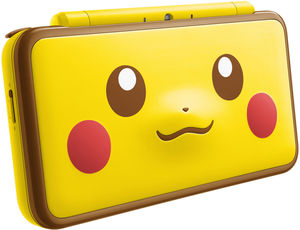 New Nintendo 2DS XL Pikachu Edition + Fire Emblem Warriors + Portable Power Bank