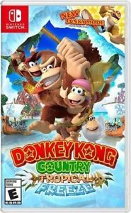 Donkey Kong Country: Tropical Freeze (Nintendo Switch) + Free Controller