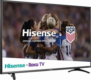 Hisense 50R7E 50-inch Roku 4K HDR Smart TV