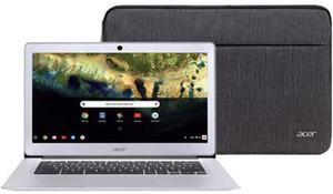 Acer Chromebook 14 Atom x5 E8000, 4GB RAM, 32GB eMMC + Protective Sleeve