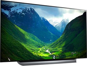 LG OLED77C8PUA 77-inch OLED 4K HDR AI Smart TV (C8 Series)
