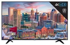 TCL 55S517 55-inch 4K HDR Roku Smart TV (Refurbished)